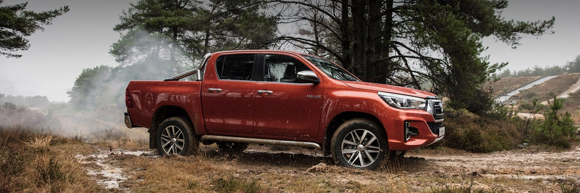 Toyota Hilux de beste pick-up